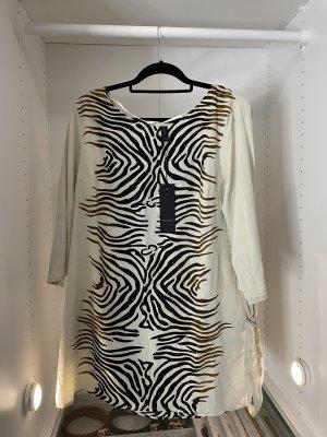 Leichtes Blusenkleid Midikleid Elegantes Kleid freizeitkleid