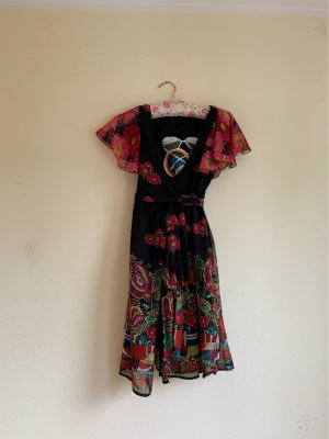 Desigual Robe portefeuille multicolore polyester