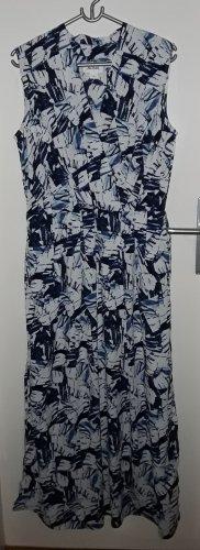 Leichtes fließendes Maxi Kleid Wickeloptik