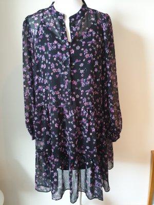 leichtes H&M Blumenprint Kleid Gr. M Blusenkleid Sommerkleid