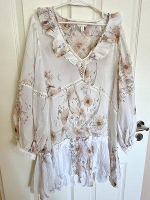 Leichtes H&M Sommer-Kleid mit Blumenprint/Floral, Größe 40, neu