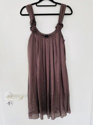 Vila Sukienka mini ciemnobrązowy