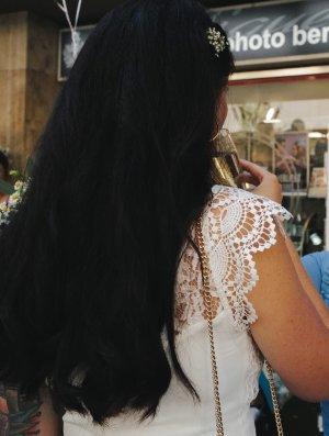 TFNC Vestido largo blanco