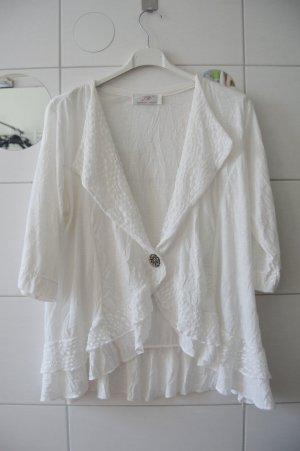 Korte blazer wit