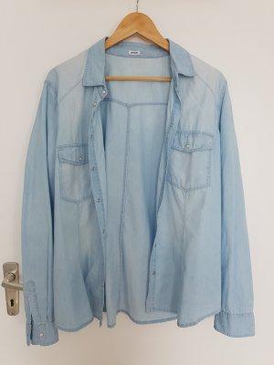 Pimkie Long Sleeve Shirt light blue