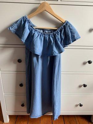 Vero Moda Vestido vaquero azul celeste