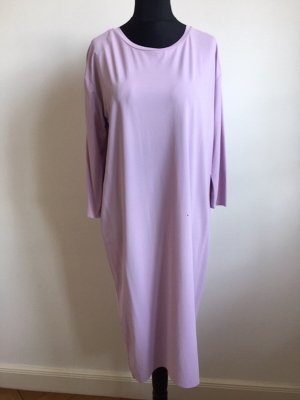 COS Sukienka midi jasny fiolet-liliowy Włókno octanowe
