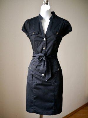 ♡ Leichtes kleines Schwarzes: Schönes schwarzes Midikleid von H&M in S, super Zustand, NP 40€ ♡