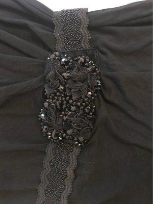 0039 Italy Camisa larga negro Algodón