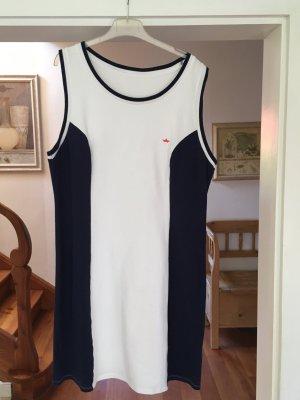Palmers Beach Dress blue-white cotton