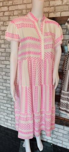 leichtes Midi Tunika Sommerkleidchen