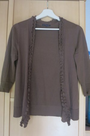 Biaggini Cardigan camel-grey brown