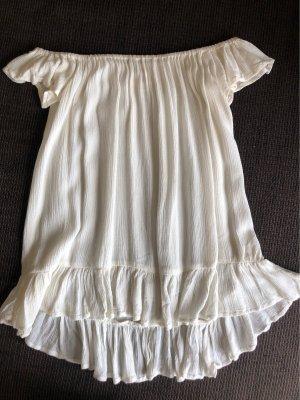 Denim & Supply Ralph Lauren Top épaules dénudées blanc cassé