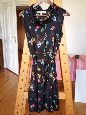 Leichtes schwarz buntes Kleid von Clements Ribeiro