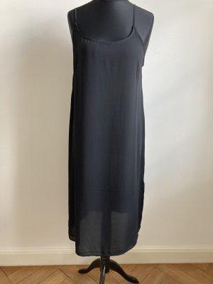 Leichtes schwarzes Sommerkleid von H&M, Gr 42