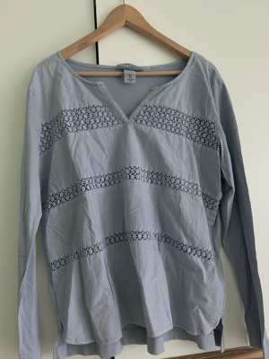 H&M Long Shirt azure