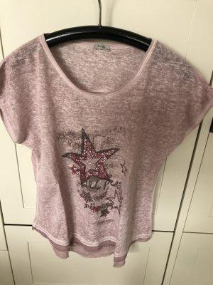 Leichtes Shirt in Altrosa Gr. 38