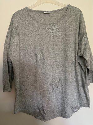 Leichtes Shirt mit Glitzersternen Größe L