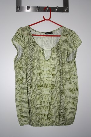 Vestino T-Shirt grass green-white polyester