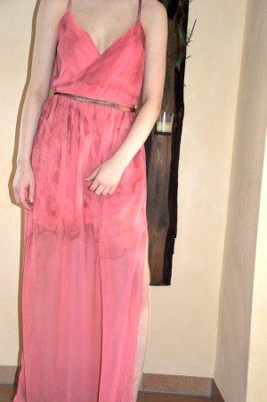 Gina Tricot Vestido de baile multicolor tejido mezclado