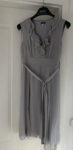 1.2.3. UN DEUX TROIS Paris Letnia sukienka srebrny