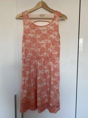 Leichtes Sommerkleid mit Cutouts Gr. M