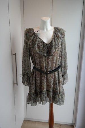 Leichtes Sommerkleid mit Gürtel Größe L Bloggerstyle *** N EU ***