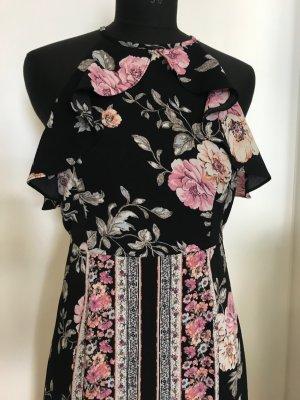 Sukienka z dekoltem typu halter Wielokolorowy Poliester
