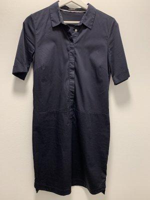 Opus Robe chemise bleu foncé