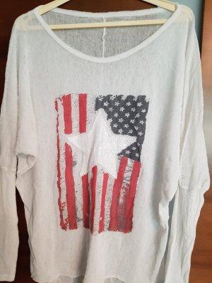 Siateczkowa koszulka Wielokolorowy