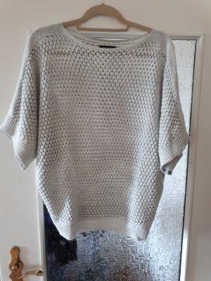 Leichtes Sommershirt in grau/silber Optik