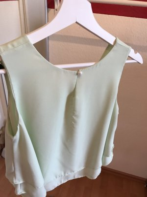 SheIn Cropped Top mint-turquoise