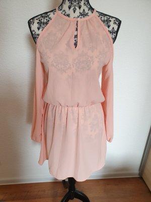 Sukienka plażowa różany