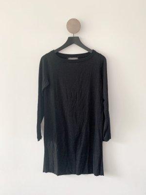 COS Jerseyjurk zwart Katoen