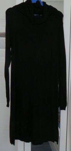 Leichtes Strickkleid in schwarz, Gr. L