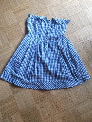 Leichtes süßes Sommerkleid / Corsagenkleid von Naf Naf, Karo-Muster