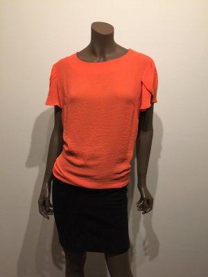 leichtes T-Shirt, knallig orange, Gr. XL