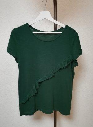 Leichtes T-Shirt mit Rüschen