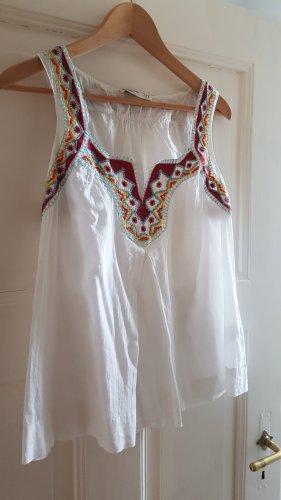 Zara Trafaluc A Line Top multicolored