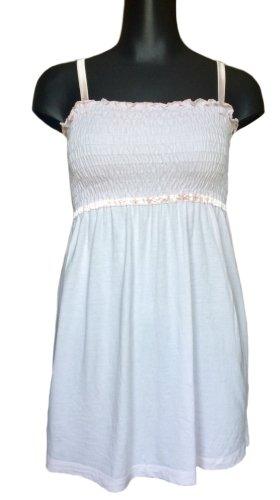 Leichtes Träger-Babydoll-Kleid