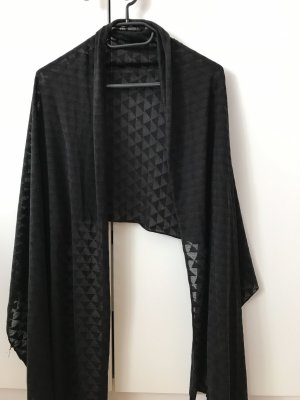 H&M Chal negro Algodón
