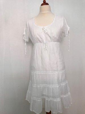 Keine Marke Empire Dress white