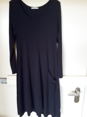 Donna Sweater Dress dark blue mixture fibre