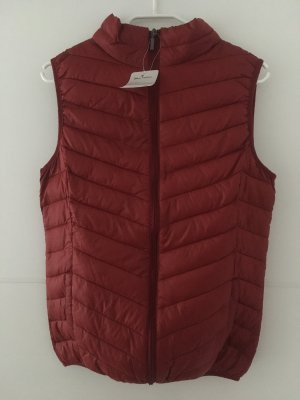 Blue Motion Quilted Gilet bordeaux polyester