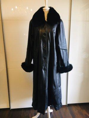 Leren jas zwart