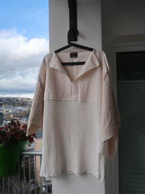 Prisa Jersey kimono crema Lino