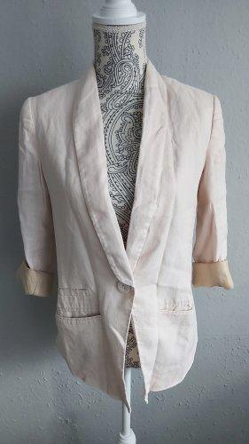 H&M Blazer stile Boyfriend rosa antico-rosa pallido
