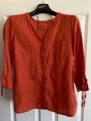 Sa.Hara Linen Blouse neon orange