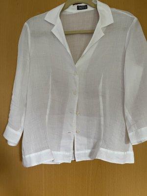 Yarell Lniana bluzka biały Len