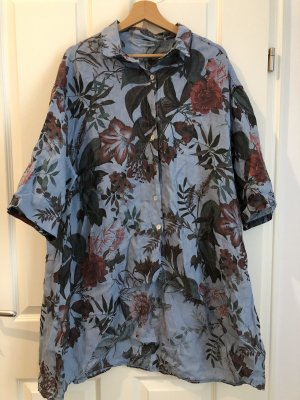 Blusa in lino multicolore